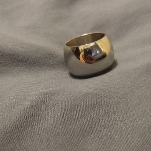Extra Wide Stainless Steel Band